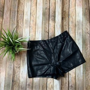 Forever21 Leather Shorts